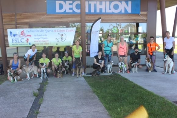 Initiation Canicross à Madine en partenariat avec Décathlon